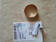 продам новое золотое кольцо размер 18, 5
